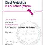 Child Protection in Education (Music)