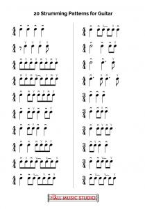 20 Guitar Strumming Patterns
